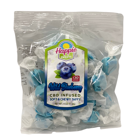 CBD Infused Taffy - Blueberry