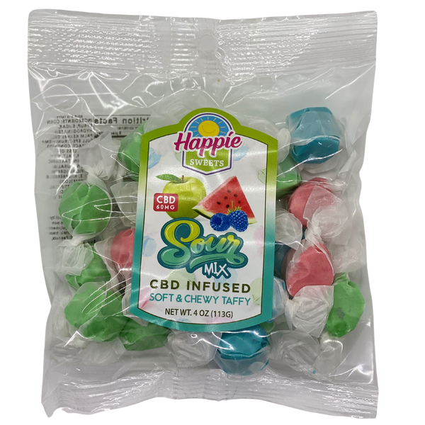 CBD Infused Taffy - Sour Mix