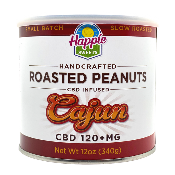 CBD Infused Roasted Peanuts - Cajun