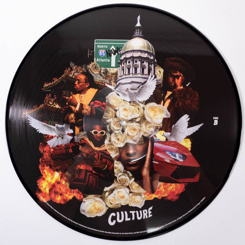 GRAMMY® Nominee Migos Culture Ltd. Ed. Picture Disc 2 × Vinyl