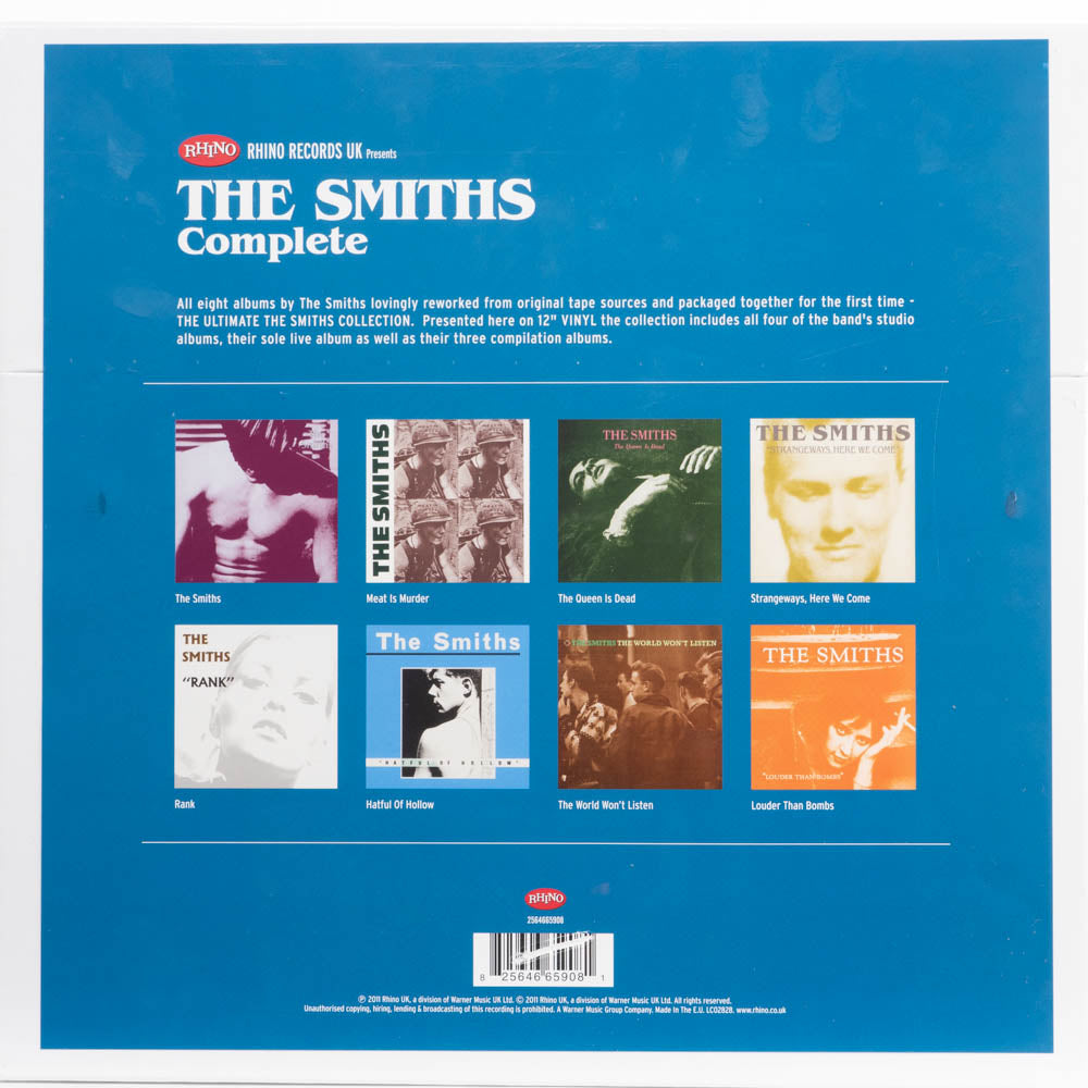 The Smiths Complete Reissued, Remastered Vinyl Collection