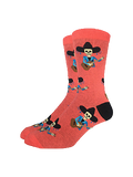 Mariachi Skeleton Sock