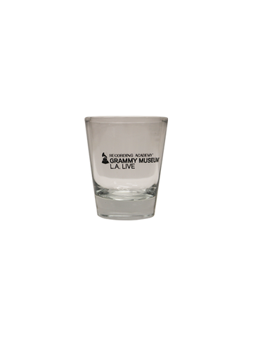 GRAMMY Museum Clear Classic Shot Glass