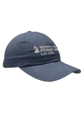 GRAMMY Museum Basic Logo Slouch Adjustable Cap