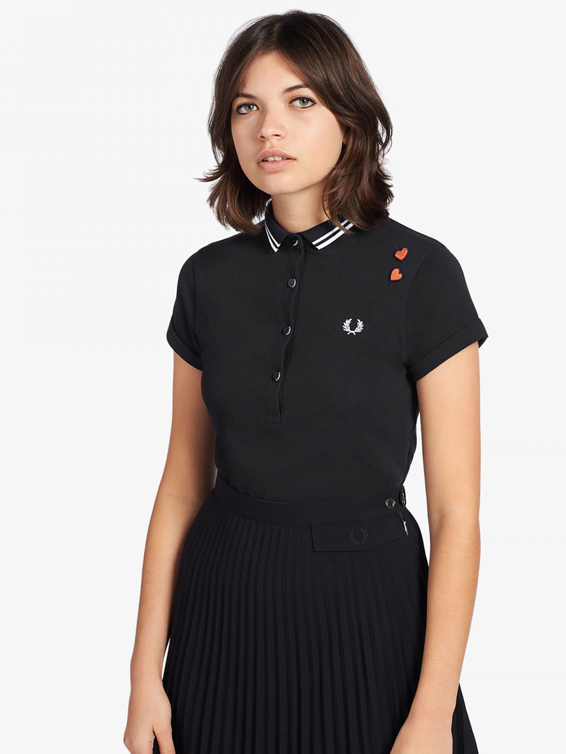 Amy Winehouse - Fred Perry Black Polo