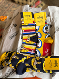 Beatles All On Board Socks Adult