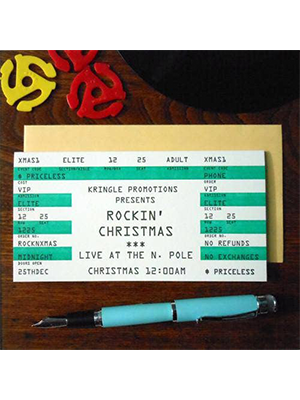 Christmas Ticket Holiday Card