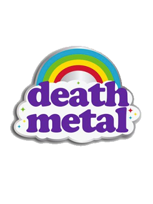 Death Metal Pin