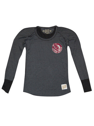 GRAMMY Museum Women's Old Microphone Long Sleeve Crew
