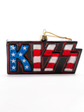 KISS Glass Logo Ornament