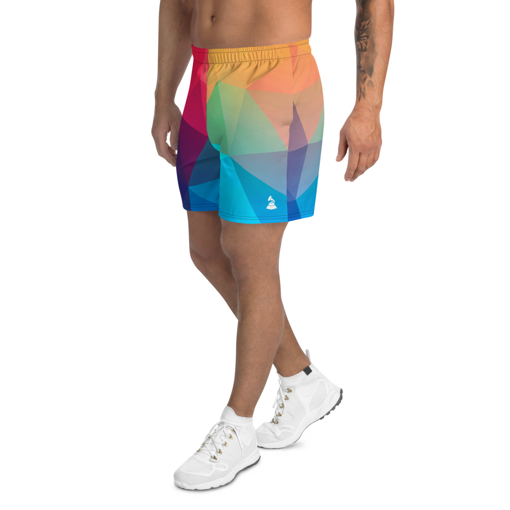 GRAMMY Award Prism All-Over Men's Athletic Shorts
