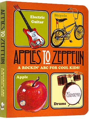 Apples to Zeppelin Board Book
