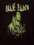 Billie Eilish Green Photo Tee