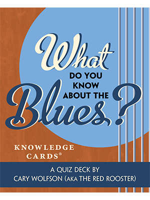 What Do You Know About Blues Trivia Cards