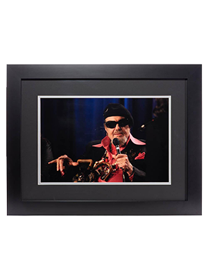 GRAMMY® Winner Dr. John Framed Photo