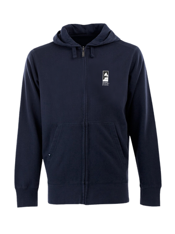 GRAMMY Museum Signature Full Zip Hoodie - Navy