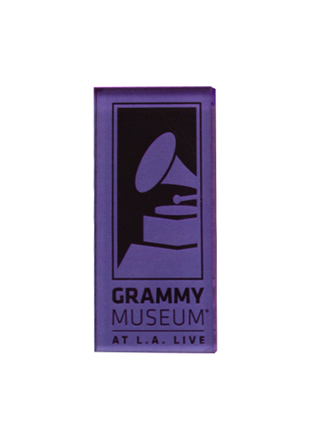 GRAMMY Museum Logo Acrylic Magnet - Blue
