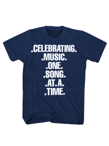 GRAMMY Museum Celebrating Music T-Shirt - Navy