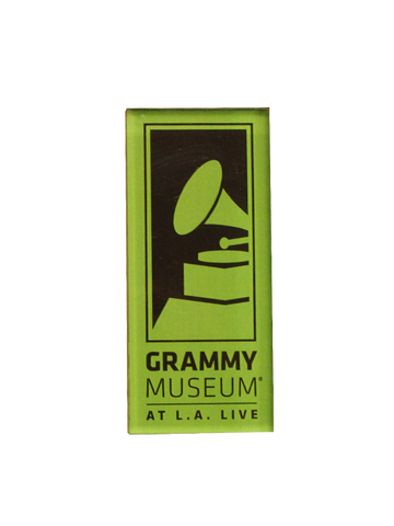 GRAMMY Museum Logo Acrylic Magnet - Green