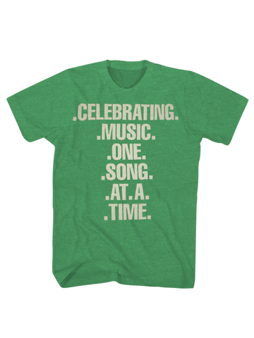 GRAMMY Museum Celebrating Music T-Shirt - Green