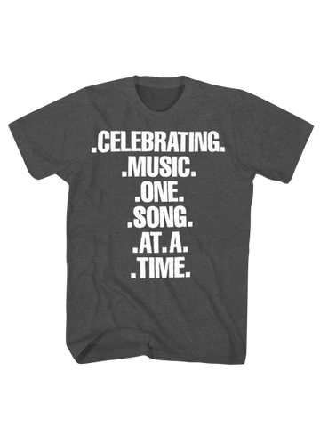 GRAMMY Museum Celebrating Music Tee - Grey