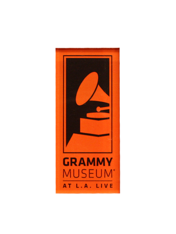 GRAMMY Museum Logo Acrylic Magnet - Orange