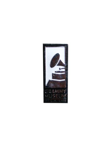 GRAMMY Museum Executive Logo Pin - Silver
