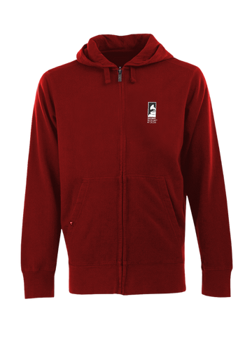 GRAMMY Museum Signature Full Zip Hoodie - Red