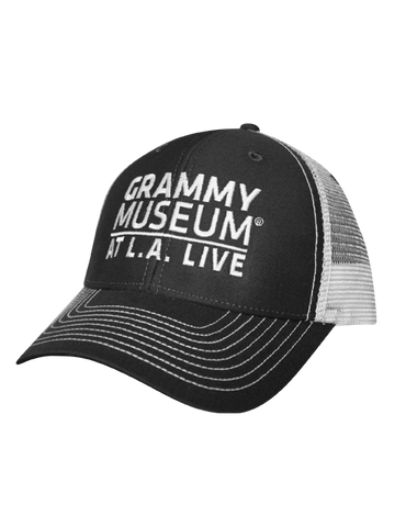 GRAMMY Museum Wordmark Logo Adjustable Cap