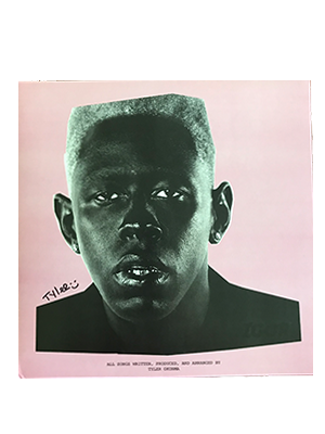 GRAMMY Winner Tyler, The Creator Signed Igor Vinyl