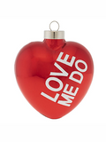 Love Me Do Beatles Ornament