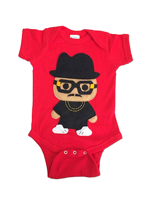 Rad Rapper Hat Onesie