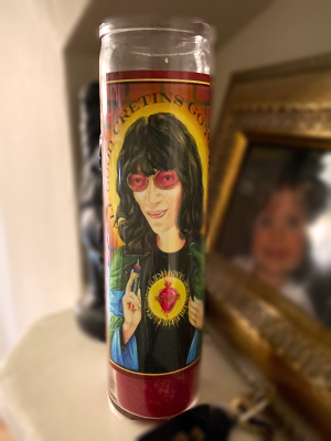 Music Saint Candle