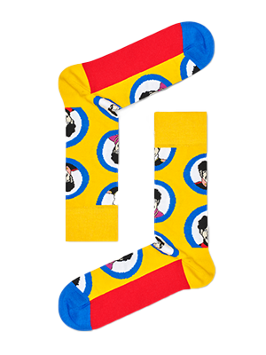 Beatles Submarine Socks Adult