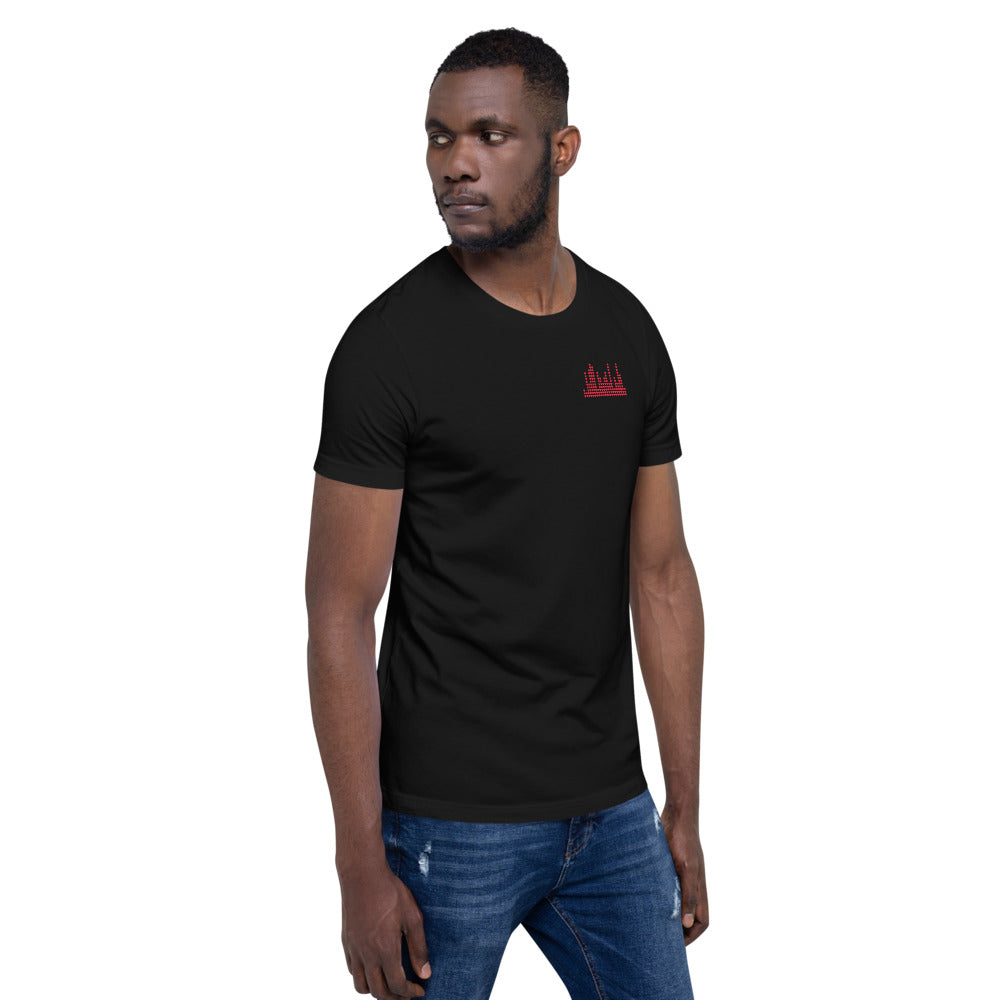 Short Sleeve Unisex T-Shirt - Heart Sound Meter
