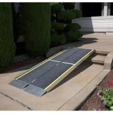 Wheelchair Ramp -Ez-Access Trifold Ramp Advantage Series (8ft and 50lbs)