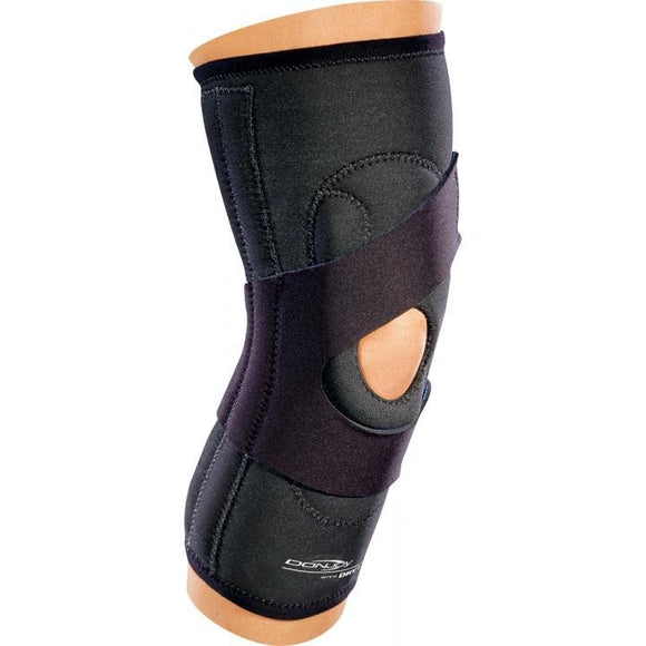 DonJoy Lateral J Buttress Patella Knee Brace (No Hinge) - SpaSupply