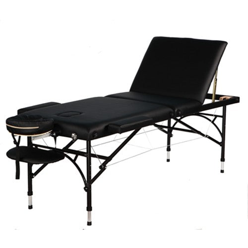 Aluminum 3 fold portable massage table with-101621