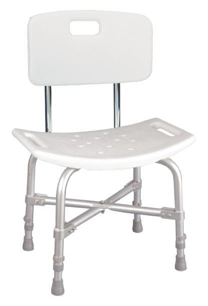 Drive Medical Deluxe Bariatric Shower Chair with Cross-Frame Brace - SpaSupply