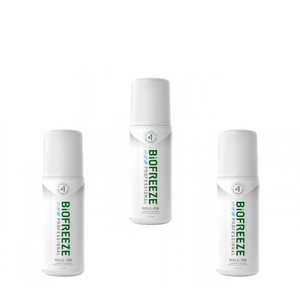 Biofreeze Professional  3oz-Roll-On-3-Pack