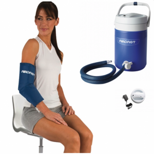 Aircast Elbow Cryo/Cuff w/ IC Cooler Combo Motorized