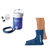 Aircast Ankle Cryo/Cuff & IC Cooler Combo Motorized