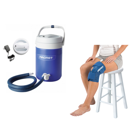 Aircast Knee Cryo/Cuff & IC Cooler Combo Motorized