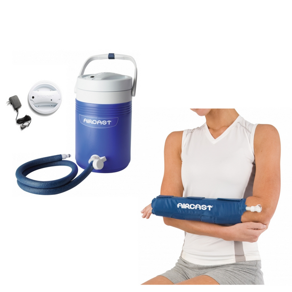 Aircast Hand/Wrist Cryo/Cuff & IC Cooler Combo Motorized
