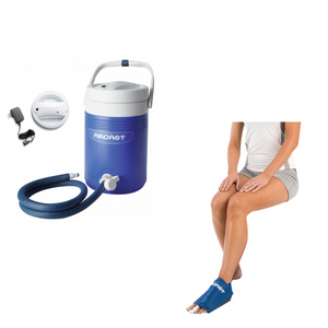 Aircast Foot Cryo/Cuff & IC Cooler Combo Motorized