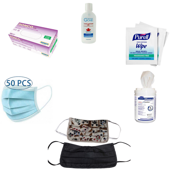 Deluxe COVID-19 Travel Kit