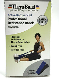 Thera-Band Latex Free Active Recovery Advanced Kit