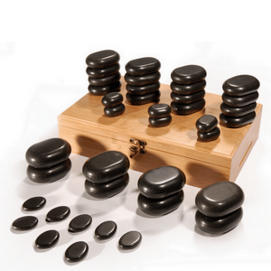 36pcs Massage Hot Stone Set - SpaSupply