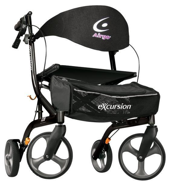Airgo eXcursion X20 Lightweight Rollator - SpaSupply