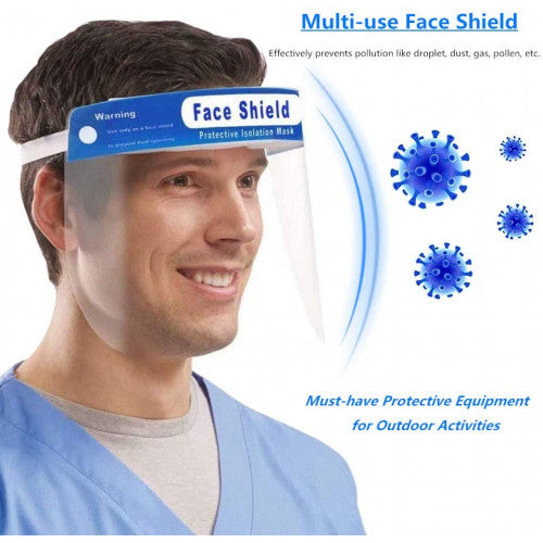 Protective Face Shield Visor One Size Fits All ( Price Per Each)